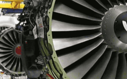 Civil Aircraft Engine Spare